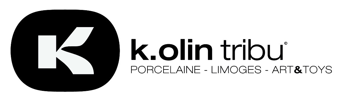 K.Olin tribu / Sculpture en Porcelaine de Limoges, France